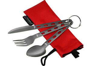 Набор посуды Terra Incognita Base Set (ложка,виделка,ніж)