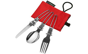 Набор складной посуды Terra Incognita Fold Set (складані ложка,виделка,ніж)