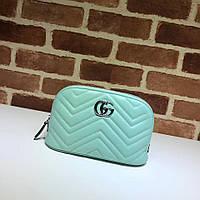 Косметичка женская GG Gucci Marmont (Гуччи)