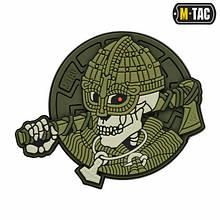 M-Tac нашивка Undead Viking 3D ПВХ Olive