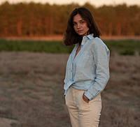 Жіночі сорочки зі 100% льону