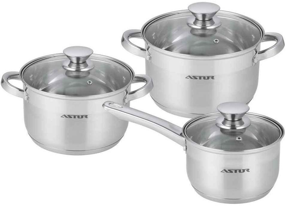 Набор посуды 6 пр Astor AST-1704