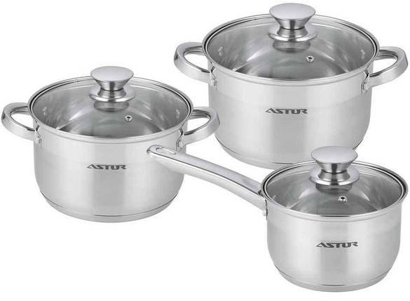 Набор посуды 6 пр Astor AST-1704, фото 2