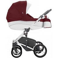 Детская универсальная коляска 2 в 1 Bebetto Tito S-line CH06 Бордовый