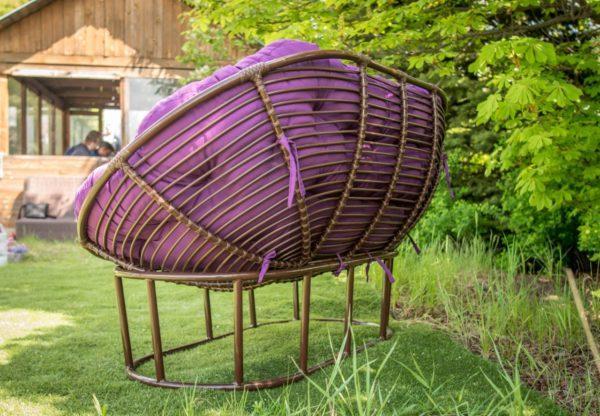 Комплект мебели из ротанга Мамасан. Украинские конструкции.