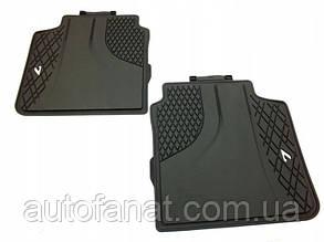 Оригинальные задние коврики салона BMW 7 G12 (51472444038)