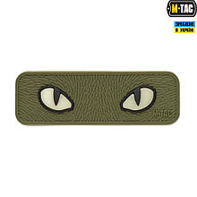 M-Tac нашивка Cat Eyes 3D ПВХ олива