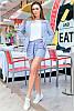 Стильний жіночий костюм літній, фото 2