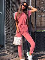 "Летний брючный женский костюм ""TRIPOLI"" с блузой (4 цвета)"