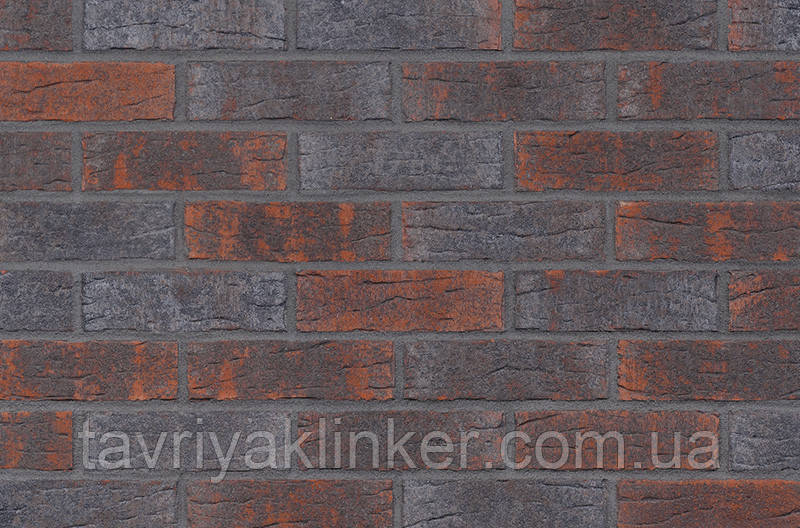 Клинкерная фасадная плитка Industrial revolution (HF28), 240x71x10 мм