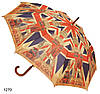 Зонт - трость женский Лондон в стиле ретро