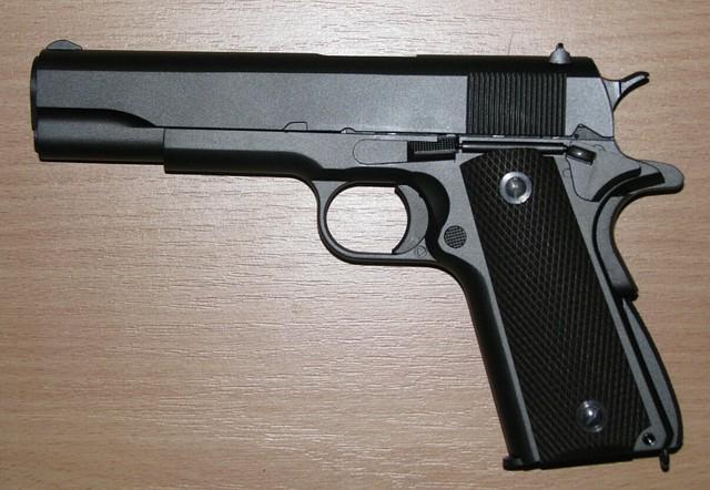 Пневматический пистолет кольт KWC KMB76