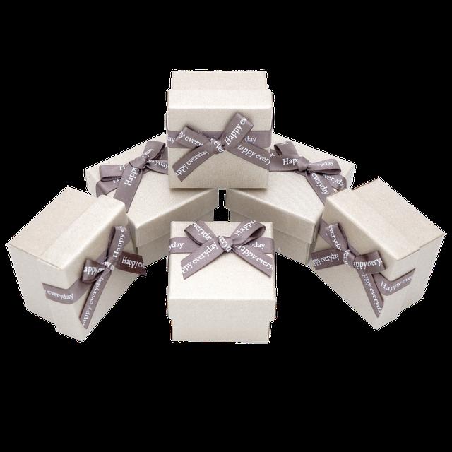 Картинка Коробка ювелирная box1-2 Бежевый