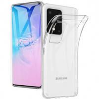 Прозорий силіконовий чохол Samsung Galaxy S20 Ultra