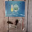 Маска полнолицевая для подводного плавания, ныряния, дайвинга, снорклинга L/XL Синяя (Оригинальные фото), фото 4