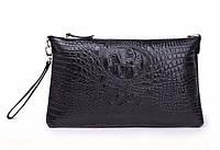 Женская кожаная  сумка клатч Bossir Croсodile тип-2, фото 1