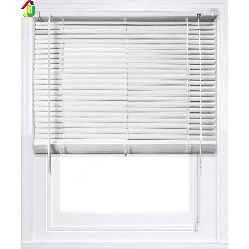 Жалюзі пластикові 450x1300 мм Білі, ламель 25мм, жалюзі для вікон, жалюзі для офісу, для квартири, будинку, дачі