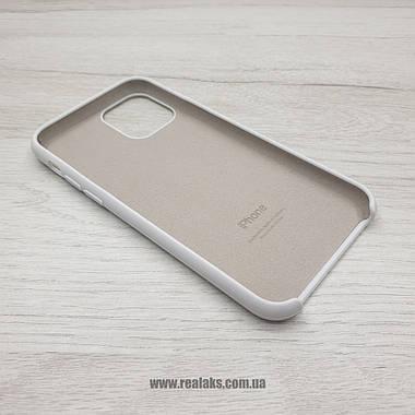 Чехол Silicone Caseдля Apple iPhone 11 PRO white, фото 3