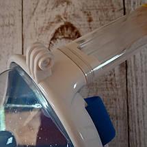 Маска для дайвинга Tribord Easy, для снорклинга с креплением камеры Большая L\XL голубая (Живые фото), фото 3
