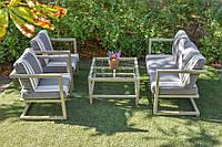 Комплект садовой мебели из ротанга Лофт Лоренс. Украинские конструкции.