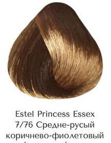 Estel Princess Essex 7/76 Середньо-русявий коричнево-фіолетовий