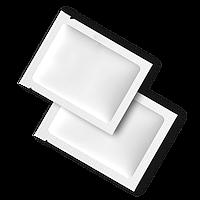 Влажная Салфетка для лица и рук. Упаковка Саше 50шт. 60*80 мм (500шт/ящ)