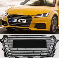 Решетка радиатора Audi TT 8S (14-19) стиль TTS
