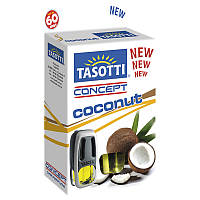 Ароматизатор жидкий на дефлектор (обдув) Tasotti Concept Coconut (Кокос) 8ml