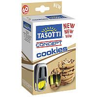 Ароматизатор жидкий на дефлектор (обдув) Tasotti Concept Cookies (Печенье) 8ml