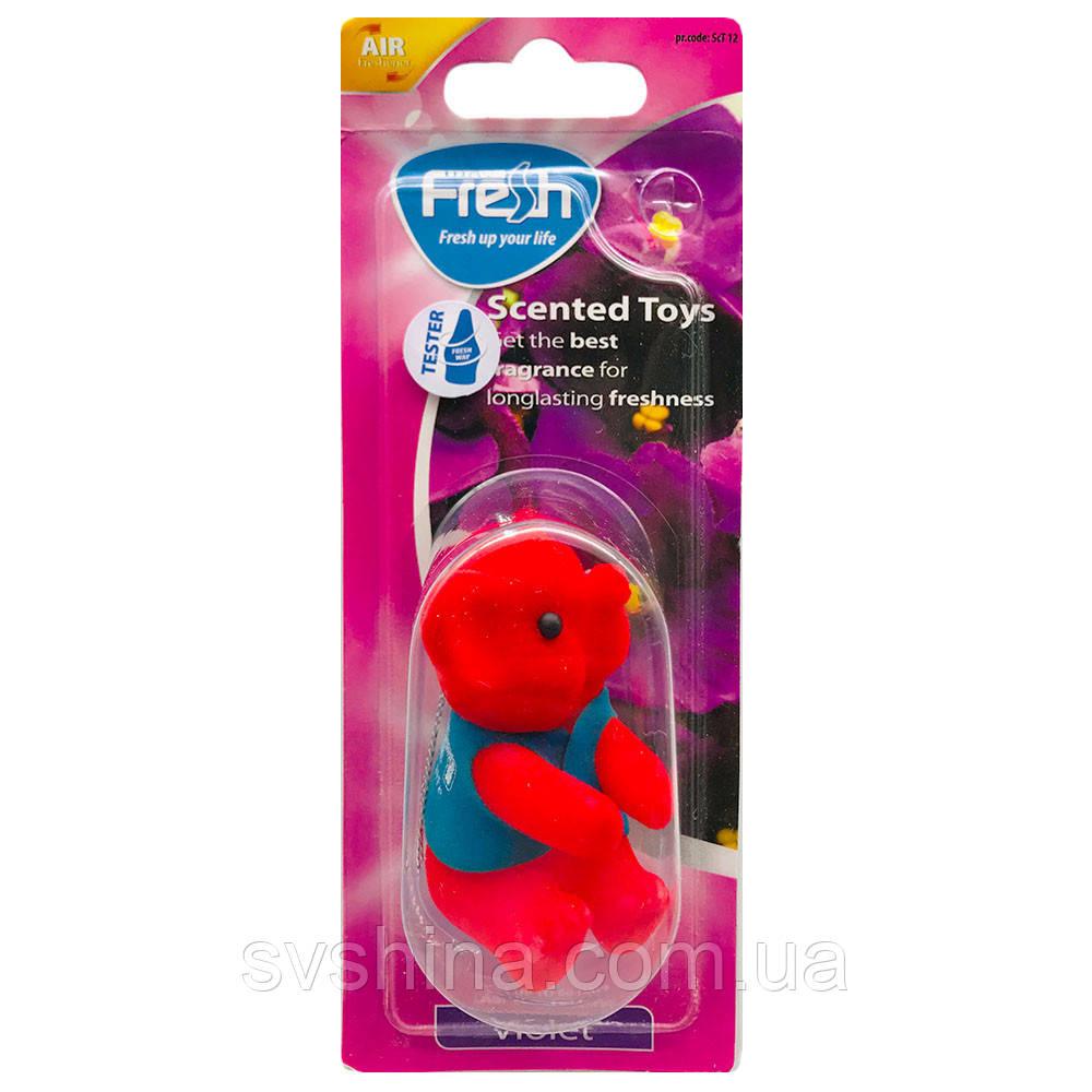 Ароматизатор іграшка на дзеркало Fresh Way Toys Violet (Фіалка)