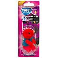 Ароматизатор іграшка на дзеркало Fresh Way Toys Violet (Фіалка), фото 1
