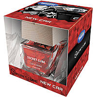 Ароматизатор спрей-пробка Tasotti Secret Cube New Car (Нова Машина) 50ml
