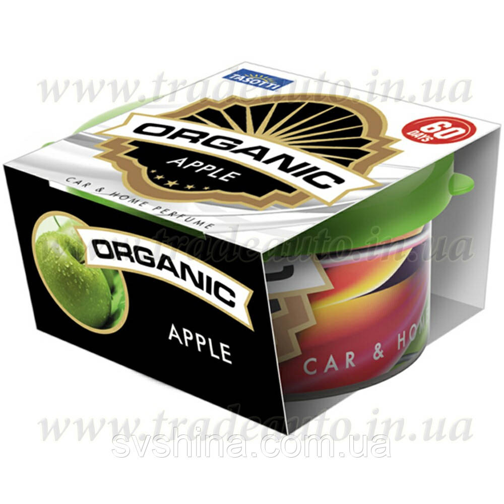 Ароматизатор консерва Tasotti Organic Apple (Яблуко) 42g