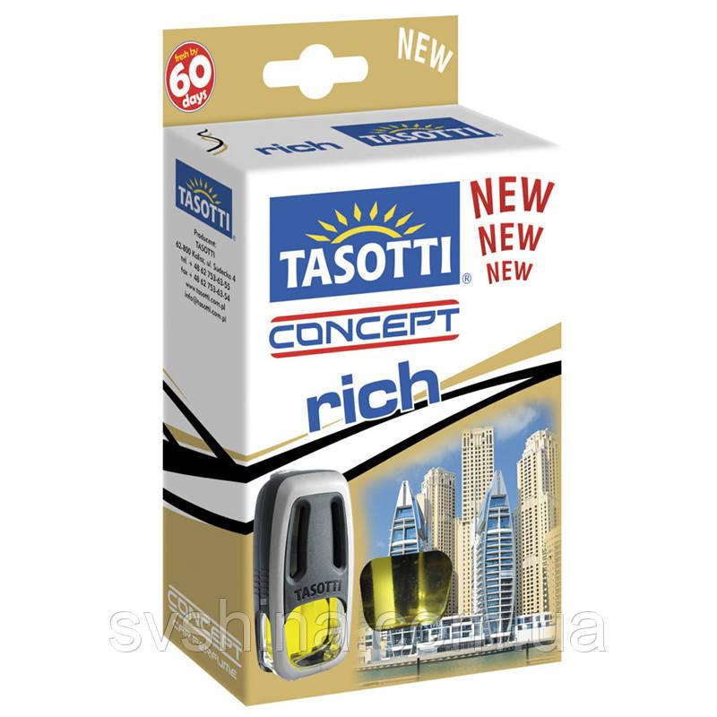 Ароматизатор жидкий на дефлектор (обдув) Tasotti Concept Rich (Багатство) 8ml