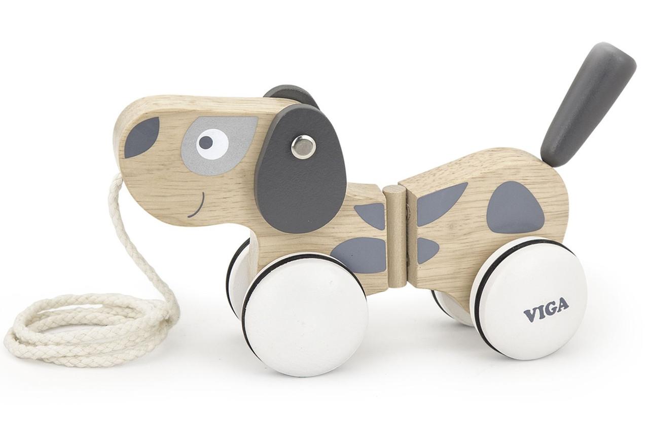 Іграшка-каталка Щеня Viga toys (51614)