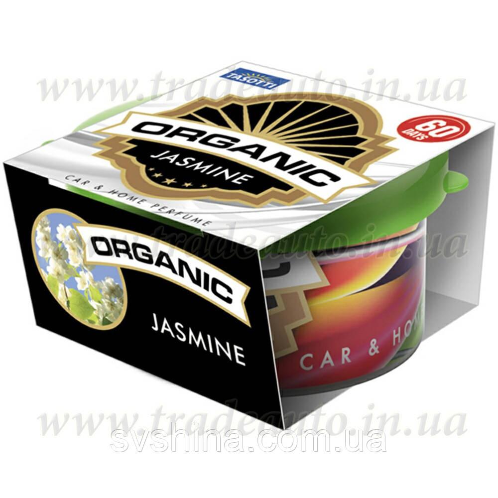 Ароматизатор консерва Tasotti Organic Jasmine (Жасмин) 42g