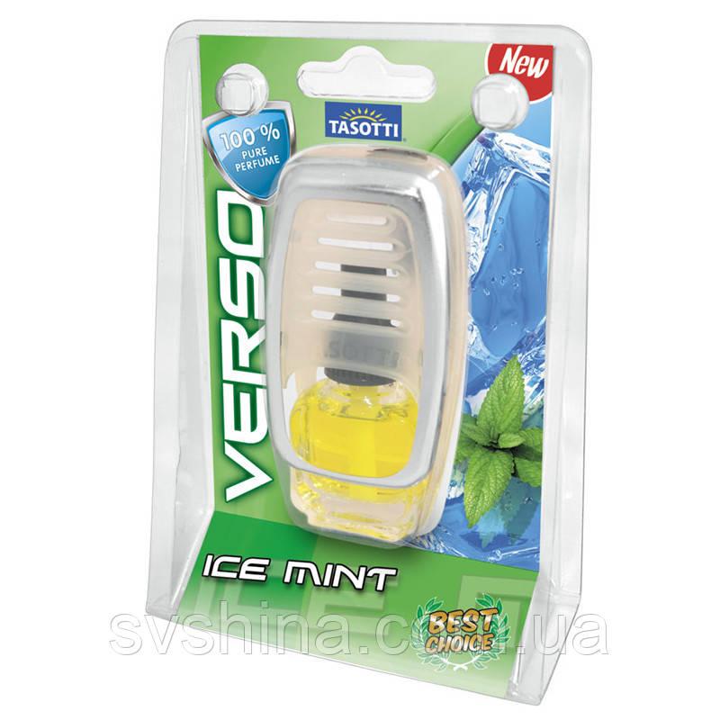Рідкий Ароматизатор на дефлектор (охолодження) Tasotti Verso Mint Ice (Крижана М'ята) 8ml
