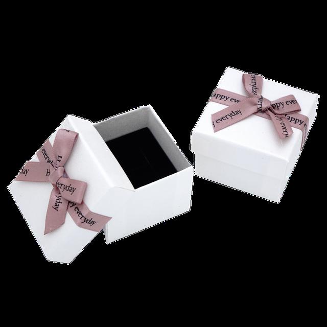 Картинка Коробка ювелирная box1-2 Белый