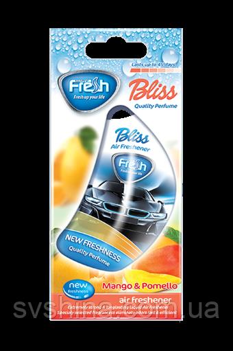 Рідкий Ароматизатор на дзеркало Fresh Way Auto Bliss Mango and Pomelo (Манго і Помело) 8ml