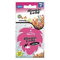 Ароматизатор сухой листик Tasotti Magic Leaf Candy (Конфета)
