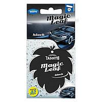 Ароматизатор сухий листочок Tasotti Magic Leaf Black (Чорний)