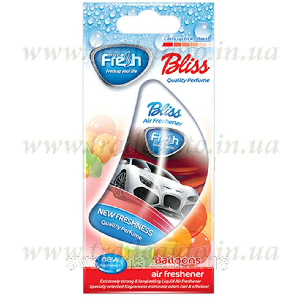 Ароматизатор жидкий на зеркало Fresh Way Auto Bliss Bubble Gum/Balloons (Жевательная Резинка) 8ml