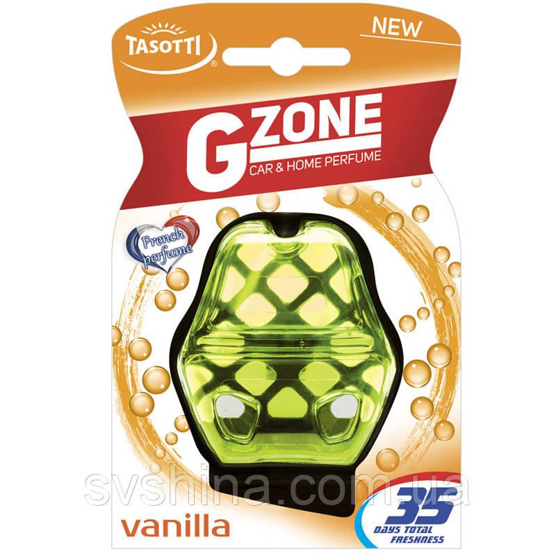 Ароматизатор гелевий на дефлектор (охолодження) Tasotti G-Zone Vanilla (Ваніль) 10ml