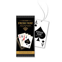 Ароматизатор сухой листик Fresh Way Four Of A Kind Aces (Карты) Spade (Пика)