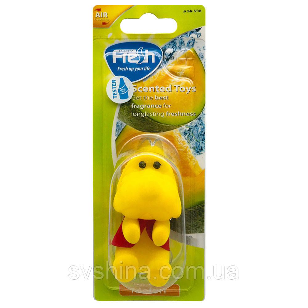 Ароматизатор іграшка на дзеркало Fresh Way Toys Melon (Диня)