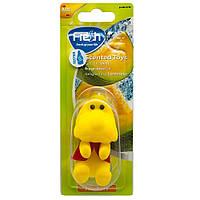 Ароматизатор іграшка на дзеркало Fresh Way Toys Melon (Диня), фото 1