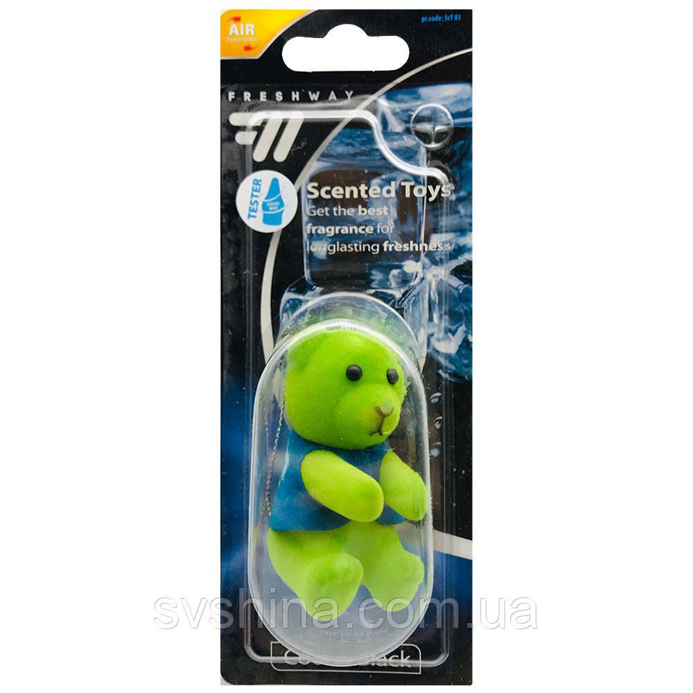Ароматизатор іграшка на дзеркало Fresh Way Toys Cool and Black (Чорний Лід)