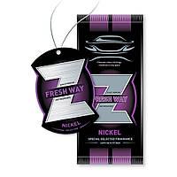 Ароматизатор сухий листочок Fresh Way Z Dry Nickel (Нікель)