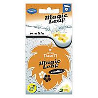 Ароматизатор сухий листочок Tasotti Magic Leaf Vanilla (Ваніль)