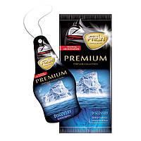 Ароматизатор сухий листочок Fresh Way Premium Dry Discovery (Відкриття)